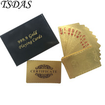 Gold Plated Playing Cards UK Queen 50 Pound 24k Gold Cards with Black Gi... - $14.50