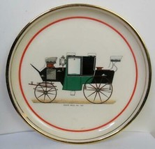 Vintage Coupe Muel No 120 Carriage Collector Plate Made by Hyalyn 8 Inches - $15.84