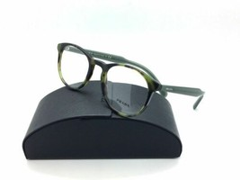 Prada Eyeglasses Optical PR19SV LAB-1O1 Green Havana 48mm w/Case - $102.36