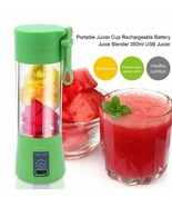 380ml USB Rechargeable Blender Mixer Portable Mini Juicer Machine Smooth... - $25.91+