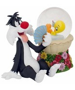 Lenox Tweety Bird Summer Sizzle Snowglobe & Sylvester Figurine Led Light... - £32.45 GBP