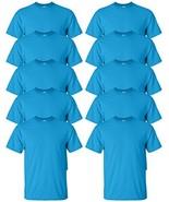 Gildan mens Ultra Cotton 6 oz. T-ShirtG200-SAPPHIRE-2XL-10PK - $53.77