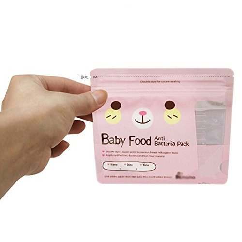 Baby Convenient Food Storage Toddler Snacks Carry-Out Bag Set of 30