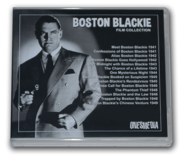 BOSTON BLACKIE FILM COLLECTION - 14 MOVIES - 7 DVD-R with CHESTER MORRIS
