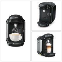Bosch Tassimo Vivy 2 TAS1402GB Coffee Machine, 1300 Watt, 0.7 Litre - Black - $52.92