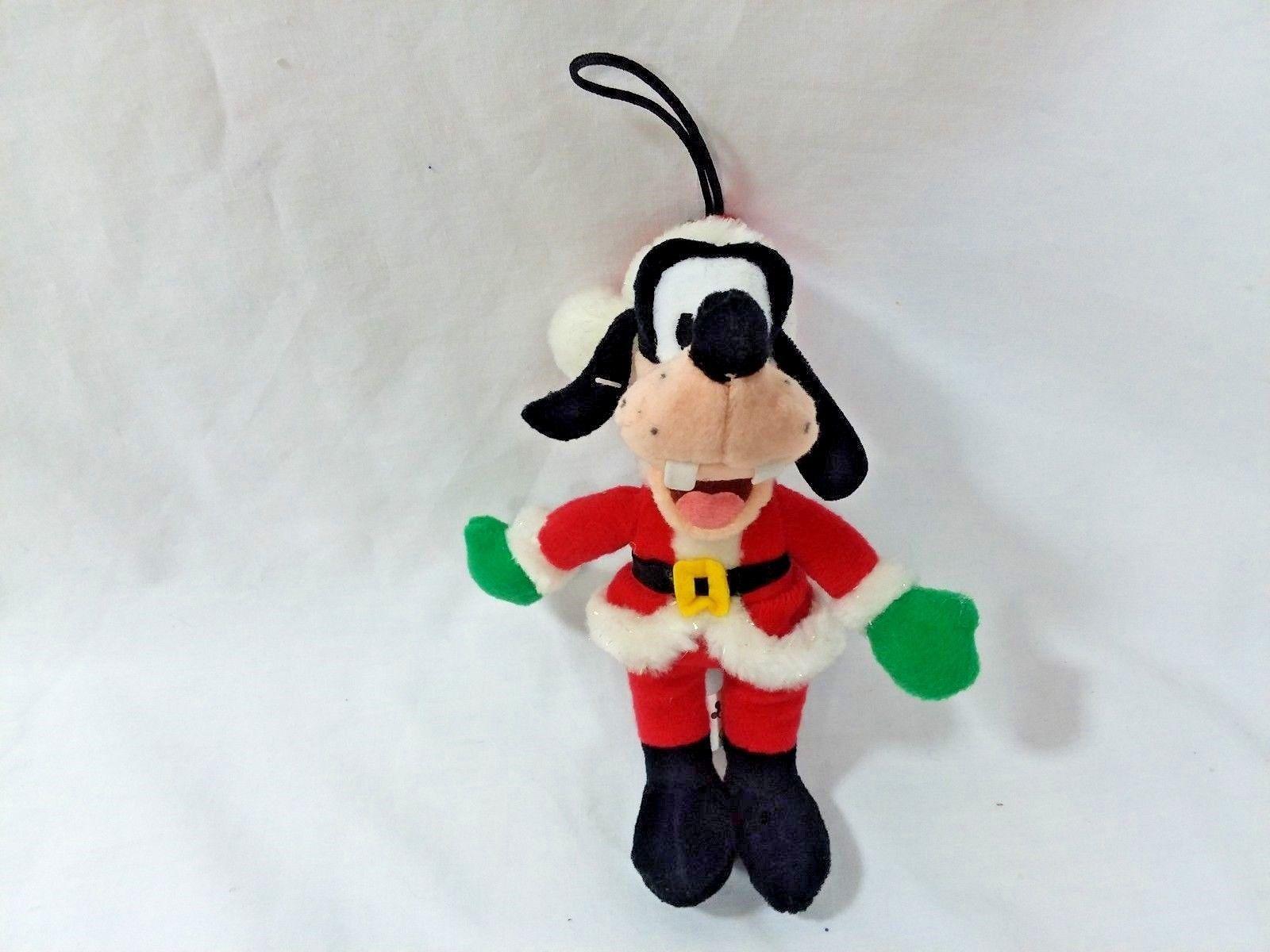 Disney Christmas Beanie Plush Lot of 11 Some w/tags, Mickey, Minnie, Pooh Eeyore