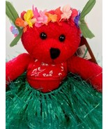 Hawaiian Collectibles Passport Bearfoot Plush Bear w/ Tag & Passport Hul... - $22.76