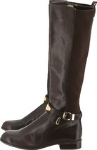 MK Michael Kors Tall Boots Knee High Dark Brown 6M NEW  - $204.91