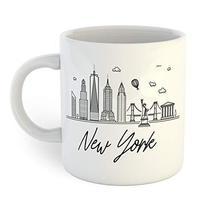 New York Skyline Coffee Mug - $12.38