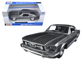 1967 Ford Mustang GT Grey 1/24 Diecast Model Car by Maisto - $23.99