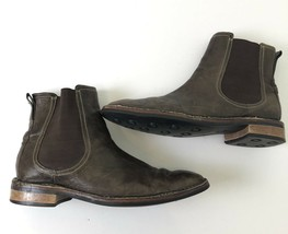 cole haan mens brown leather chukka boots C09883 Size 11 - $34.65