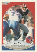 1990 Fleer #123 Art Still - $0.50