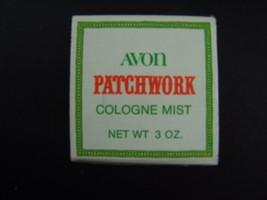 Avon Patchwork Cologne Mist 3 Fl Oz Original Box Vintage 1970s - $7.02