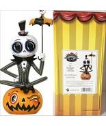 Disney Miss Mindy Nightmare Before Christmas Jack Skellington on Pumpkin NBX - $48.37