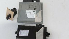 08-10 BMW 328i 528i DME ECU EWS Key Immobilizer Ignition Set - Auto Trans image 3