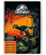 Jurassic World: 5-Movie Collection (DVD, 2018, 5-Disc Set) NEW - $18.50