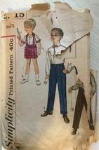 Simplicity 3215 Toddler's Vintage Shirts, Shorts & Pants Size 2 - $4.99