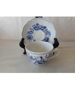 Tirschenreuth Bavaria BLUE ONION Cup & Saucer 14 Available - $13.50