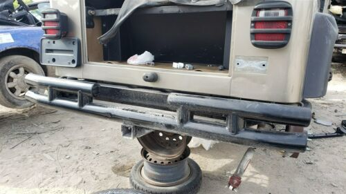 97-06 Chrysler Jeep Wrangler TJ Rear Metal Bumper W/ Tow Hitch SMITTYBILT