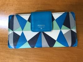 Follow Muli-color geometric women's clutch wallet - $24.95