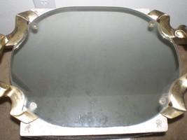 Vintage Godinger Bow Handle Silver Plate Handles Vanity Mirror 1968 - $84.15