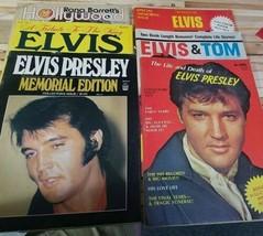 Magazine Lot Of 6 Featuring Elvis Presley - $29.69