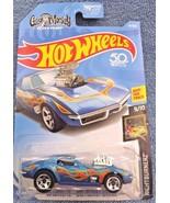 2018 Hot Wheels #41 Nightburnerz 9/10 '68 CORVETTE GAS MONKEY GARAGE Blu... - $6.68