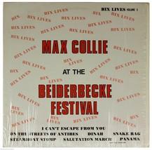 MAX COLLIE At Box Beiderbecke Festival 1975 LP Shrink 70s Ragtime Dixiel... - $14.01