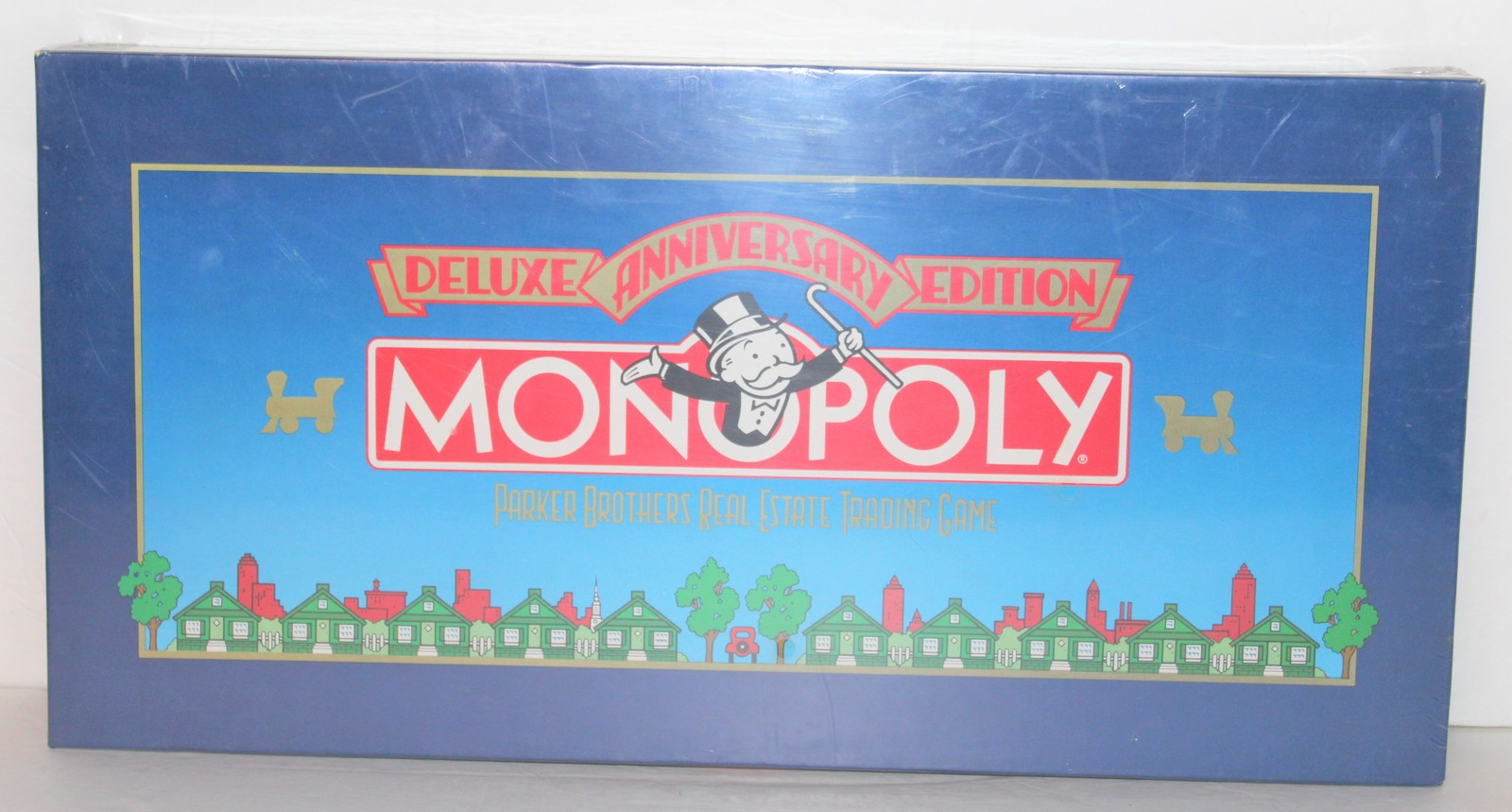 Primary image for Monopoly Deluxe 50th Anniversary Edition 1984 Parker Brothers Factory Sealed