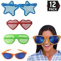 Liberty Imports Jumbo Sunglasses Novelty Plastic Photo Booth Glasses Fun... - $18.40