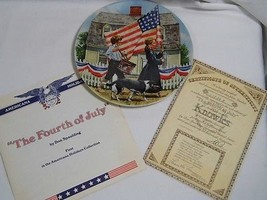 Edwin Knowles The FOURTH of JULY 1st in American Holidays Bradford Echan... - $12.99