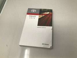 2014 Toyota Prius Owners Manual Handbook OEM Z0I25 - $38.39