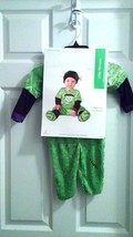 NEW Little Monster Costume Green/Black Complete size  6-12 Months FREE SHIP - $16.45