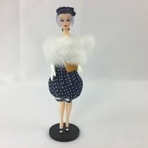 "Barbie Ornament Hallmark Keepsake Gay Parisienne Doll 1999 4 1/2"" Tall New - $19.99"