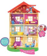 Peppa Pig's Lights & Sounds Family Home Feature Playset - $99.99