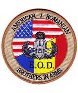 US Army EOD Explosive Ordinance Disposal Unit American Romanian patch - ... - $11.87