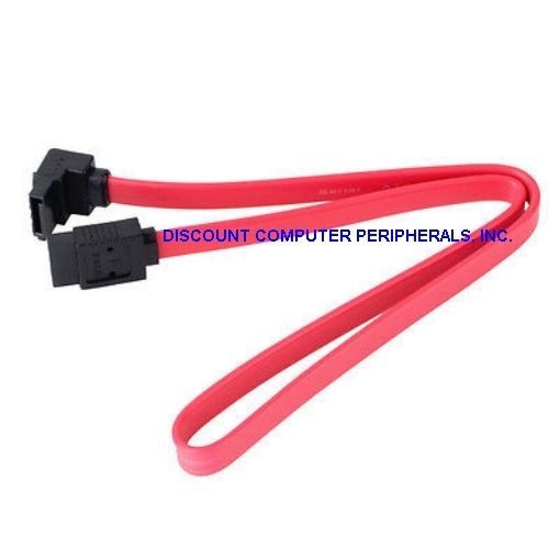 18 to 21Inch Right Angle SATA Data Cable - New