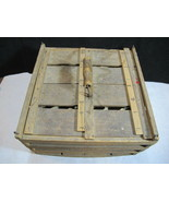 Humpty Dumpty Farmers Wooden Egg Crate Carrier Inserts 5 Doz Owosso BARN... - $79.95
