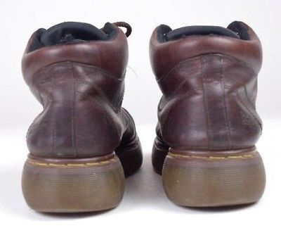 387c73e3e9266f Vintage 90s DR MARTENS Oiled Brown Leather Lace Up Chunky Ankle Boots Mens  US 11