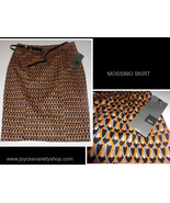 Mossimo Black & Gold Geometric Pencil Skirt & Belt NWT Size 8  - $15.99