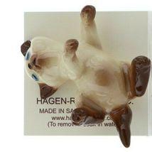 Hagen Renaker Miniature Cat Siamese Large Kitten on Back Ceramic Figurine image 3
