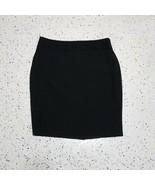 Worthington Petite Women's Skirt ~ Sz 10P ~ Black ~ Knee Length ~ Lined  - $24.74