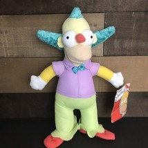 """The Simpsons KRUSTY the Clown TV Plush Stuffed Toy 15"""" 2015 Toy Factory ... - $12.19"""