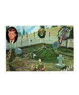 OVERSIZE PHOTO CARD-JFK'S GRAVE SITE AT ARLINGTON-INAUGURAL ADDRESS ON B... - $3.96
