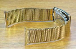 Duchess USA 20mm 1960s Rete Oro 1/40 10K R.g.p Nuovo Vecchio Vintage Cinturino - $71.33