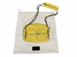 ALEXANDER WANG BRENDA Yellow Leather Crossbody Bag Purse Silver Hardware Dustbag image 1