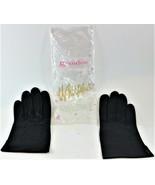 Small Grandoe Black Driving Gloves Whispair Ladies Size 7 New Free Shipping - $24.74
