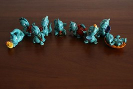 Kinder Surprise Egg Set Drolly Dinos 1993 not complete + storage box - $9.99