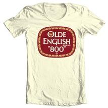 Olde English 800 T-shirt beer malt liquor retro Colt 45 100% cotton graphic tee image 1