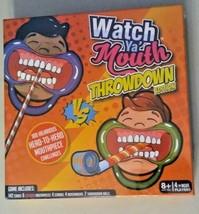 Watch Ya' Mouth Throwdown Game NEW - $16.19